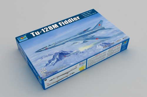 Trumpeter 01687 1/72 Scale Tu-128M Fiddler Aircraft Military Plastic Assembly Model Kit