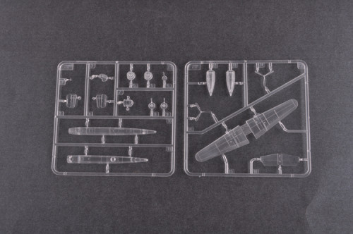 Trumpeter 04204 1/200 Scale B-25 Mitchell Plastic Aircraft Assembly Model Kit
