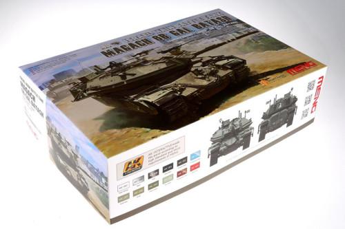 Meng TS-040 1/35 Scale Israel MBT Magach 6B Gal Batash Tank Military Plastic Assembly Model Kit