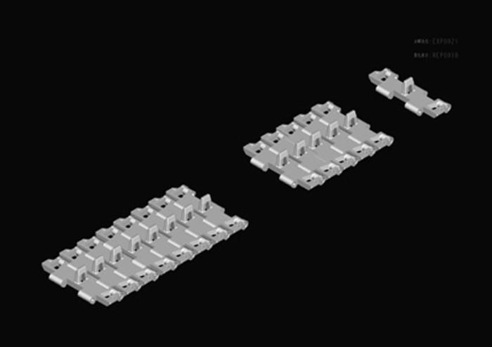 HobbyBoss 82427 1/35 Scale T26E4 Pershing Pilot #2 Military Plastic Tank Assembly Model Kits