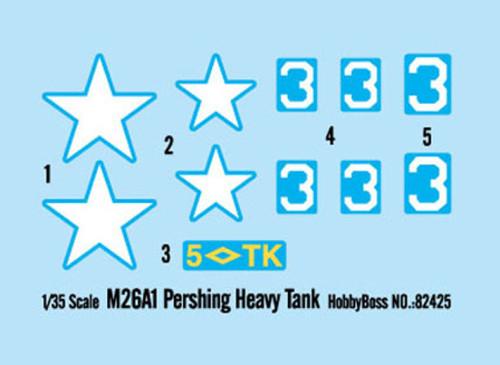 HobbyBoss 82425 1/35 Scale M26A1 Pershing Heavy Tank Military Plastic Assembly Model Kits