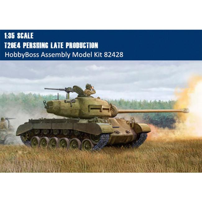 HobbyBoss 82428 1/35 Scale T26E4 Pershing Tank Late Production Plastic Assembly Military Model Kits