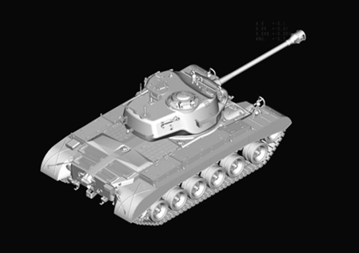 HobbyBoss 82424 1/35 Scale M26 Pershing Heavy Tank Plastic Assembly Armor Model Kits