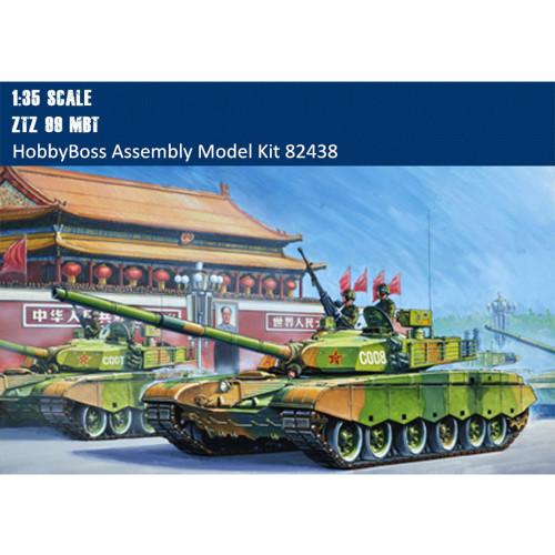 HobbyBoss 82438 1/35 Scale ZTZ 99 Main Battle Tank Armor Plastic Assembly Model Kits