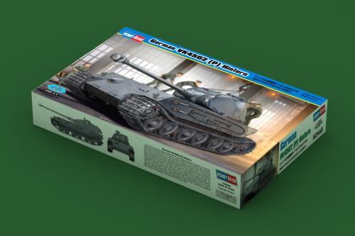 HobbyBoss 82445 1/35 Scale German VK4502 (P) Hintern Plastic Military Tank Assembly Model Kits