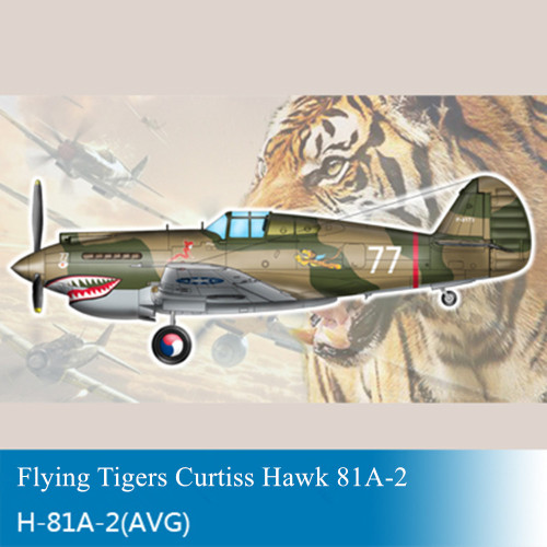 Trumpeter 05807 1/48 Scale H-81A-2(AVG) Fighter Military Plastic Aircraft Assembly Model Kit