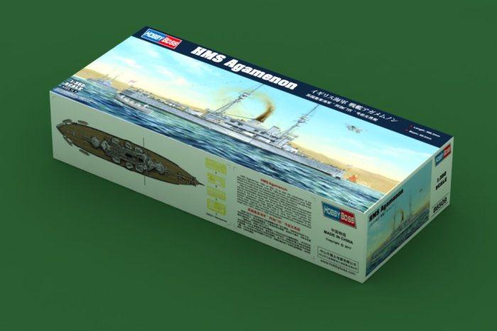 HobbyBoss 86509 1/350 Scale HMS Agamenon Battleship Military Plastic Assembly Model Kit