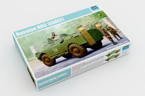 Trumpeter 05513 1/35 Scale Russian NBC (EARLY) Reconnaissance Vehicle Plastic Military Assembly Model Kits