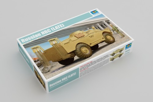 Trumpeter 05516 1/35 Scale Russian NBC (LATE) Reconnaissance Vehicle Plastic Military Assembly Model Kits