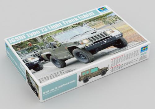 Trumpeter 05520 1/35 Scale JSDF Type 73 Light Truck(shin) Plastic Assembly Model Building Kits