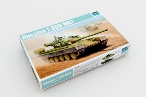 Trumpeter 05565 1/35 Scale Russian T-80B Main Battle Tank Plastic Military Assembly Modle Kits