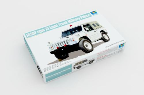 Trumpeter 05518 1/35 Scale JGSDF type 73 Light Truck (Police) Plastic Assembly Model Building Kits