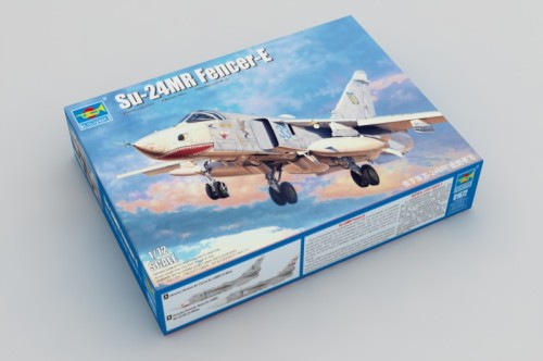 Trumpeter 01672 1/72 Scale Su-24MR Fencer-E Military Plastic Aircraft Assembly Model Building Kits