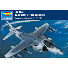 Trumpeter 02285 1/32 Scale AV-8B Night Attack Harrier II Military Plastic Aircraft Assembly Model Kit