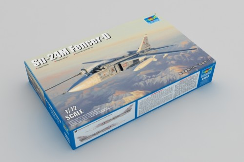Trumpeter 01673 1/72 Scale Su-24M Fencer-D Military Plastic Aircraft Assembly Model Building Kits