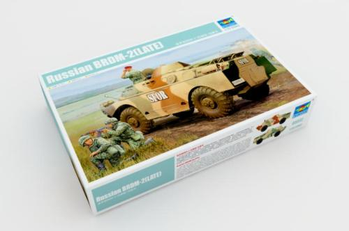 Trumpeter 05512 1/35 Scale Russian BRDM-2 Late Version Military Plastic Assembly Model Kits