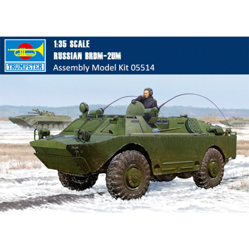 Trumpeter 05514 1/35 Scale Russian BRDM-2UM Plastic Military Assembly Model Kits