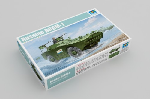 Trumpeter 05596 1/35 Scale Russian BRDM-1 Plastic Military Assembly Model Kits