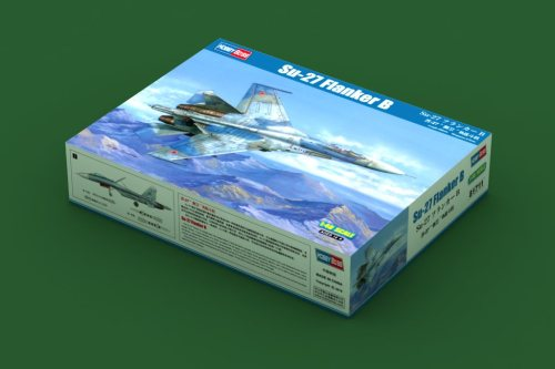 HobbyBoss 81712 1/48 Scale Su-27 Flanker Early Version Fighter Military Plastic Assembly Model Kits