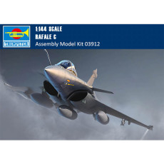 Trumpeter 03912 1/144 Scale French Rafale C Fighter Military Plastic Aircraft Assembly Model Building Kits