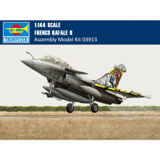 Trumpeter 03913 1/144 Scale French Rafale B Fighter Military Plastic Aircraft Assembly Model Building Kits