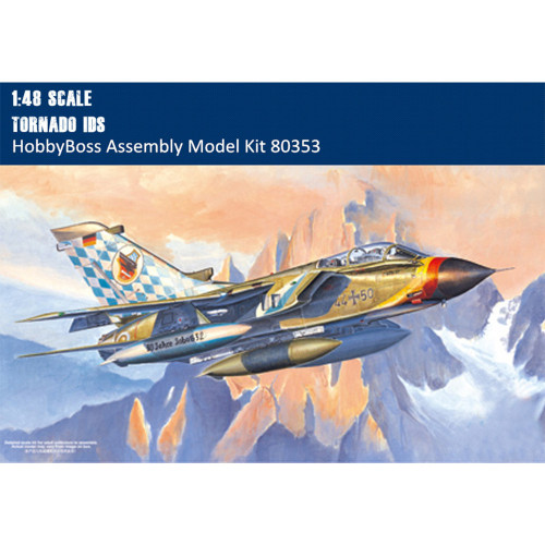 HobbyBoss 80353 1/48 Scale German Tornado IDS Military Plastic Aircraft Assembly Model Building Kits