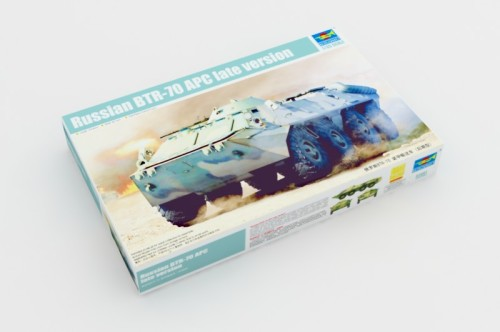 Trumpeter 01591 1/35 Scale Russian BTR-70 APC Late Version Military Plastic Assembly Model Kits