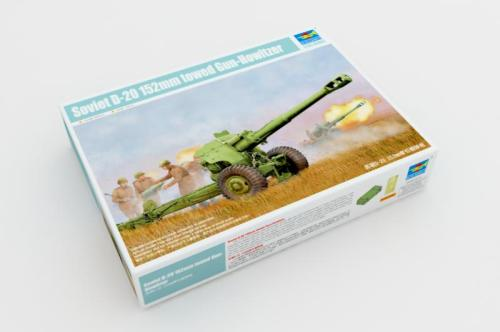 Trumpeter 02333 1/35 Scale Soviet D-20 152mm towed Gun-Howitzer Military Plastic Assembly Model Building Kits