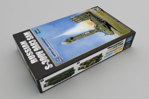 Trumpeter 09519 1/35 Scale Russian S-300V 9A83 SAM Military Plastic Assembly Model Kit
