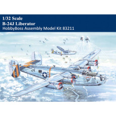 HobbyBoss 83211 1/32 Scale B-24J Liberator Bomber Military Plastic Aircraft Assembly Model Kit