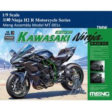 Pre-Order Meng MT-001s 1/9 Scale 川崎 Ninja H2 R Kawasaki Motorcycle Series Plastic Assembly Model Kit