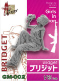 ZLPLA Genuine 1/35 Scale Resin Figure Bridget Girls in Action Assembly Model Kit GM-002