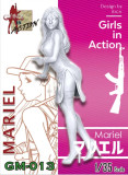 ZLPLA Genuine 1/35 Scale Resin Figure Mariel Girls in Action Assembly Model Kit GM-013