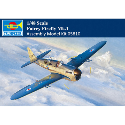 Trumpeter 05810 1/48 Scale Fairey Firefly Mk.1 Aircraft Military Plastic Assembly Model Kit