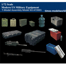T-Model A72001 1/72 Scale Modern US Military Equipment Plastic Assembly Model accessories Kit