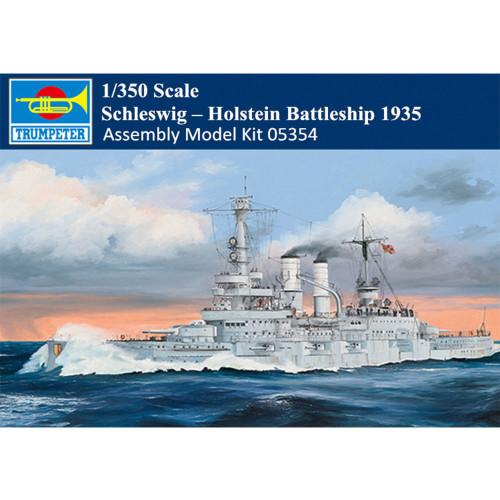 Trumpeter 05354 1/350 Scale Schleswig – Holstein Battleship 1935 Military Plastic Assembly Model Kit