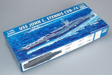 Trumpeter 05733 1/700 Scale USS JOHN C. STENNIS CVN-74 Military Plastic Assembly Model Building Kits