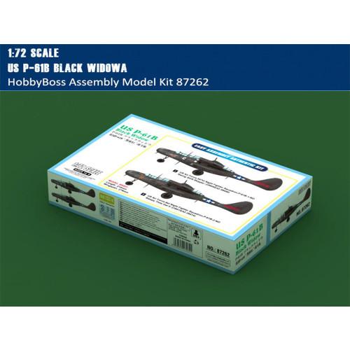 HobbyBoss 87262 1/72 Scale US P-61B Black Widow Military Plastic Aircraft Assembly Model Kits