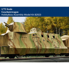 HobbyBoss 82923 1/72 Scale German Geschutzwagen Military Plastic Assembly Model Building Kits