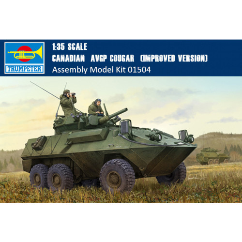Trumpeter 01504 1/35 Scale Canadian AVGP Cougar Improved Version Assembly Model Kits