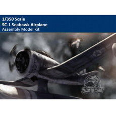 1/350 Scale SC-1 Seahawk Airplane Aircraft Assembly Model for Missouri Battleship