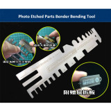 Alexen Model Tanks Ships Photo Etched Parts Folding Bender Bending Tool Hand Pressure Type Auxiliary Ruler AJ0086