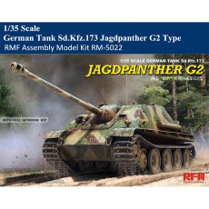 Pre-order Rye Field Model RFM RM-5022 1/35 Scale German Heavy Destroyer Tank Sd.Kfz.173 Jagdpanther G2 Type Armor Assembly Model Kit