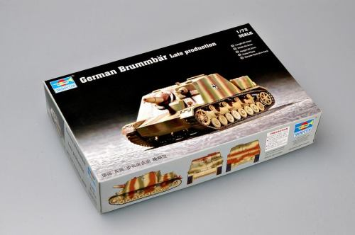 Trumpeter 07212 1/72 Scale German Brummbar Late Production Plastic Military Assembly Model Kits