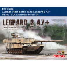 Pre-order MENG TS-042 1/35 Scale German MBT Main Battle Tank Leopard 2 A7+ Armor Plastic Assembly Model Kits