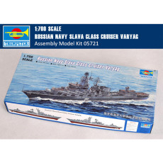 Trumpeter 05721 1/700 Scale Russian Navy Slava Class Cruiser Varyag Military Assembly Model Kits