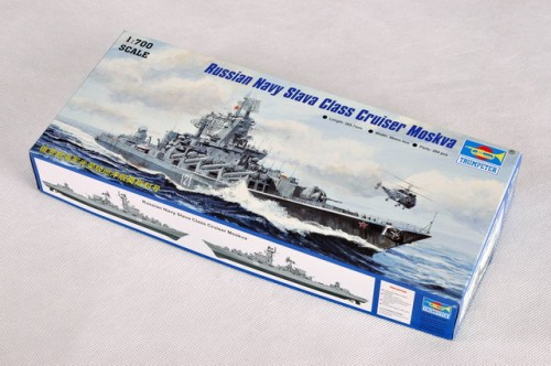 Trumpeter 05720 1/700 Scale Russian Navy Slava Class Cruiser Moskva Warship Assembly Model Kits