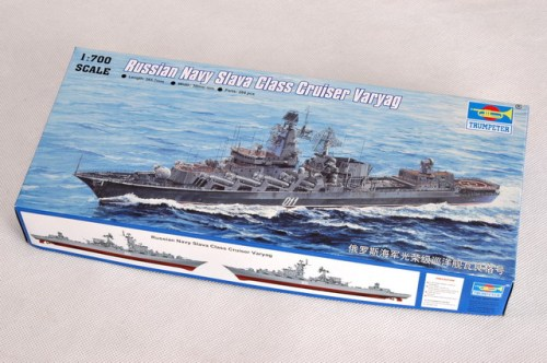 Trumpeter 05721 1/700 Scale Russian Navy Slava Class Cruiser Varyag Military Assembly Model Kits