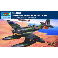 Trumpeter 02404 1/24 Scale Supermarine Spitfire MK.Vb Float Plane Military Plastic Aircraft Assembly Model Kit