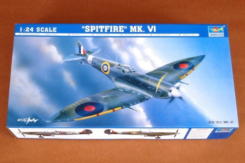 Trumpeter 02413 1/24 Scale Spitfire Mk.VI Military Plastic Aircraft Assembly Model Kit